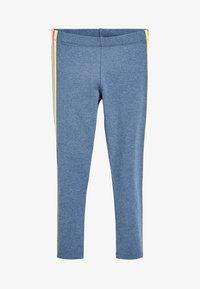 Next - ANIMAL PRINT - Leggings - Trousers - mottled light blue - 0