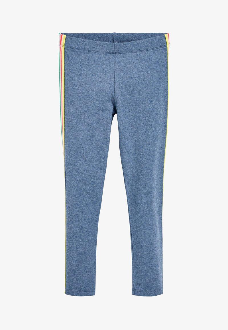 Next - ANIMAL PRINT - Leggings - Trousers - mottled light blue