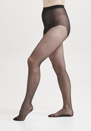 WITH BACKSEAM DENIER - Panty - black
