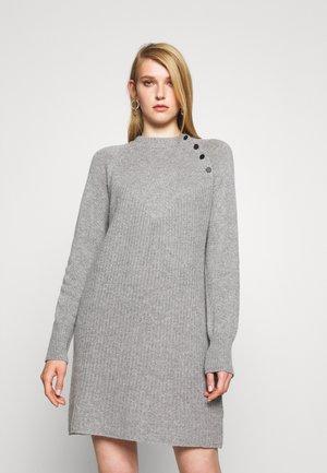 SUNDAY - Jumper dress - grey melange