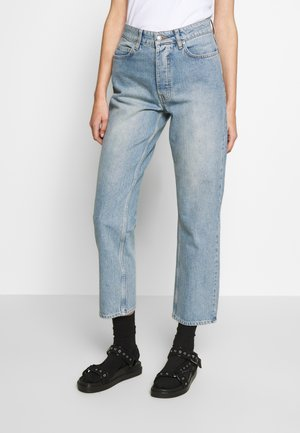 PEARL  - Jean droit - distressed blue