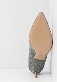 Kurt Geiger London - BRITTON - High heels - grey/light - 6