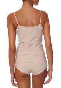 Skiny - DAMEN SPAGHETTISHIRT - Undershirt - skin - 2