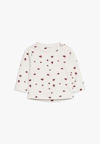 Noppies - TEE SLIM CARY BABY - Long sleeved top - whisper white melange - 0