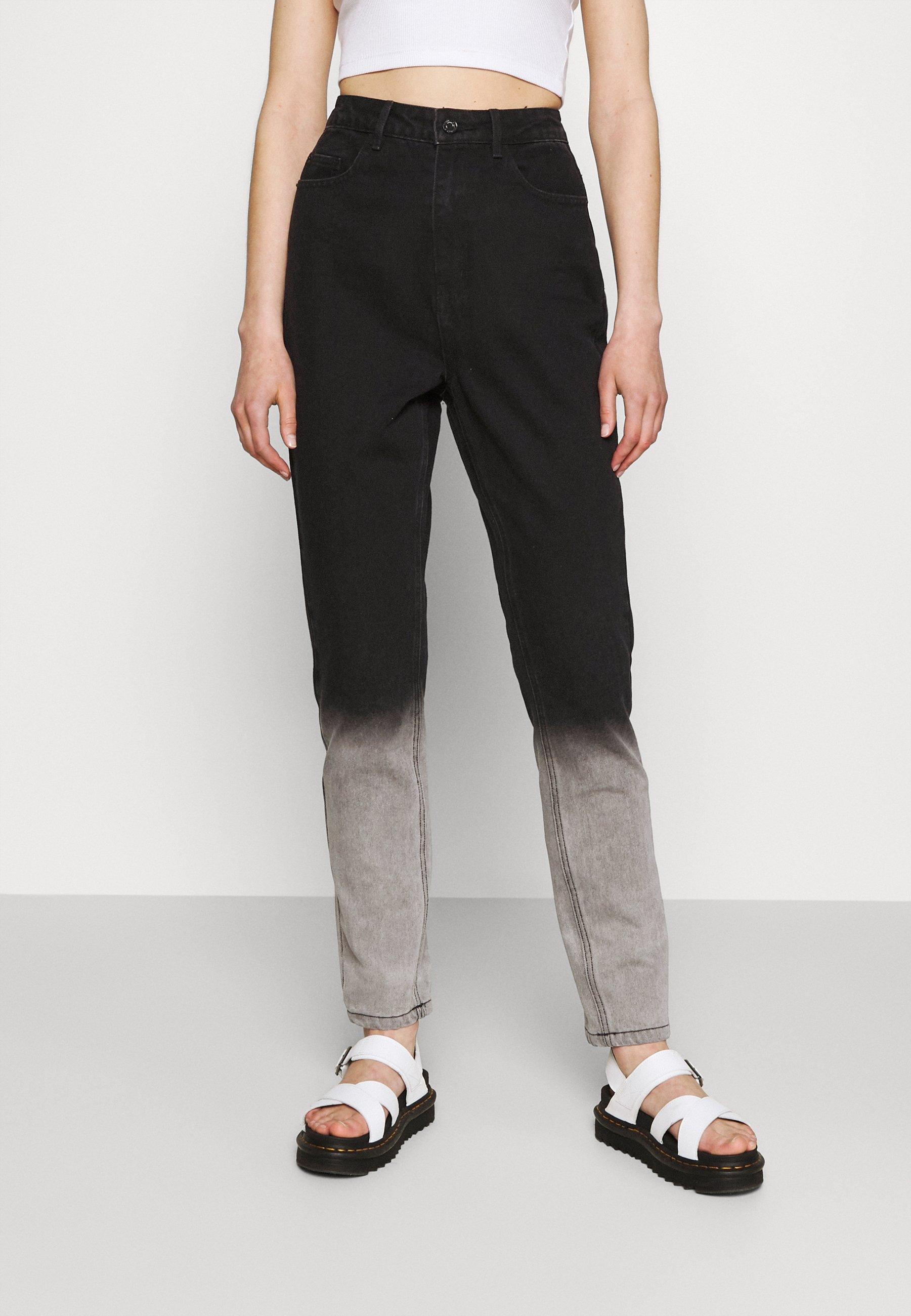 Women TIE DYE OMBRE WRATH - Straight leg jeans
