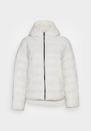 RECYCLED NO DOWN CAPE - Light jacket - white sand