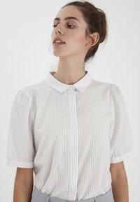 ICHI - IHASILO - Button-down blouse - alloy - 0
