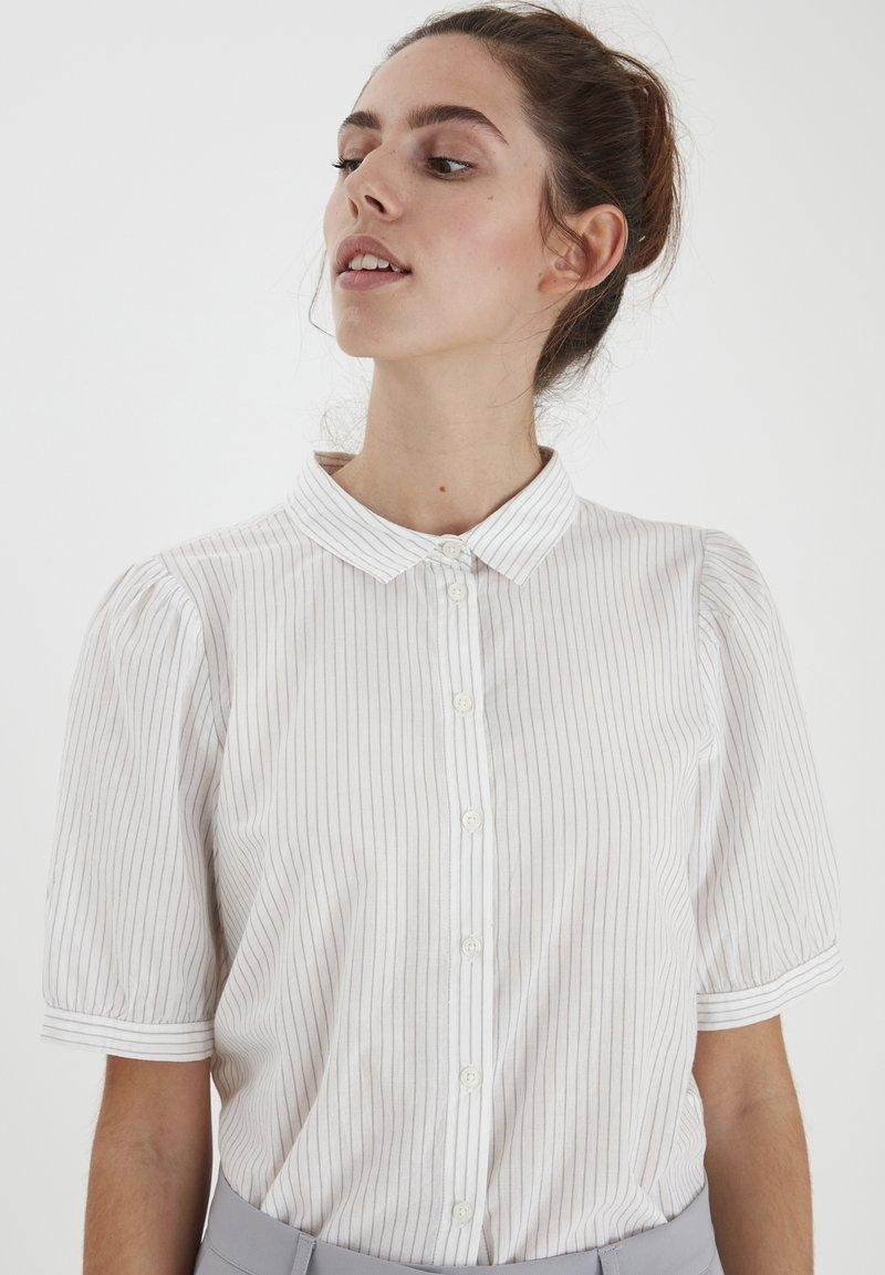 ICHI - IHASILO - Button-down blouse - alloy