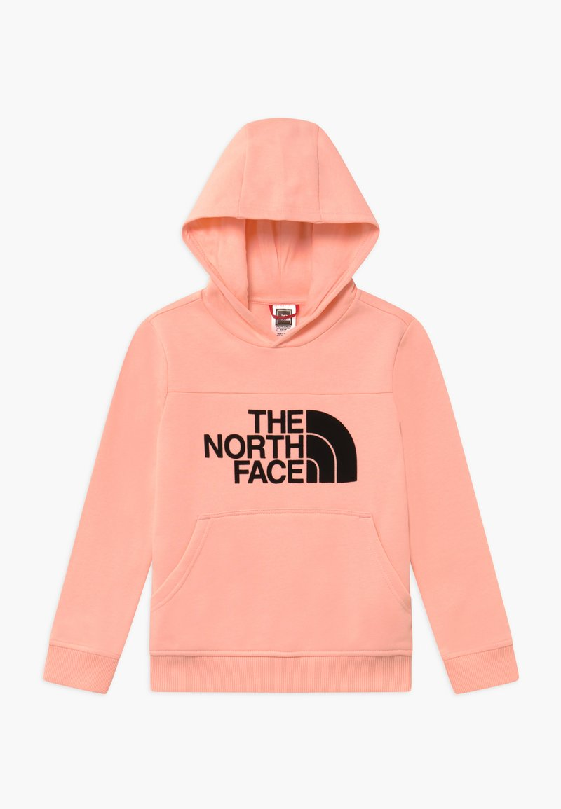 The North Face - GIRLS DREW PEAK HOODIE - Mikina skapucí - impatiens pink