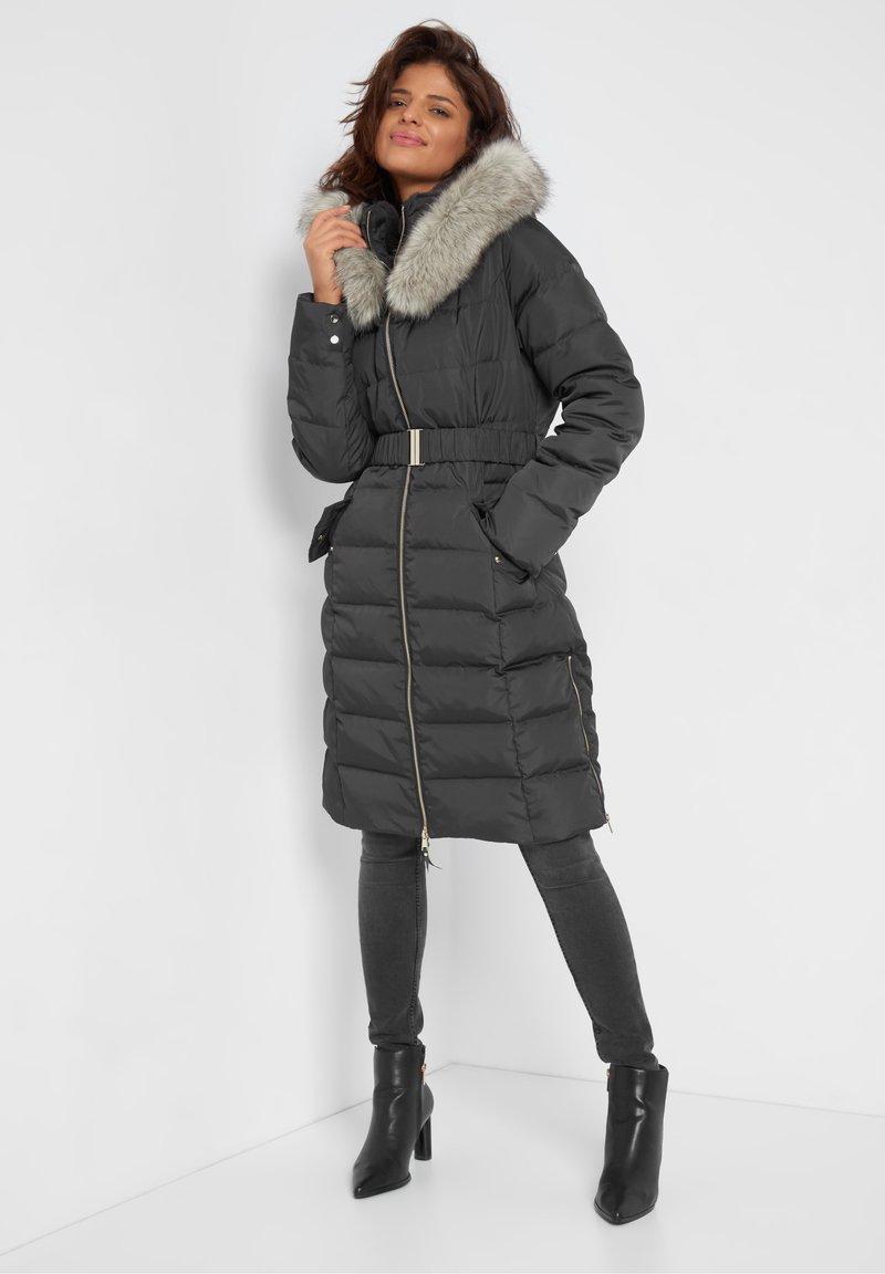 ORSAY - Down coat - dunkelgrau meliert