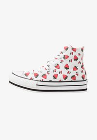 Converse - CHUCK TAYLOR ALL STAR PLATFORM EVA - Sneakers alte - white/garnet - 1