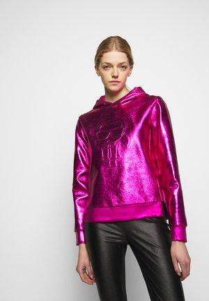 IKONIK HOODIE - Hoodie - metallic pink