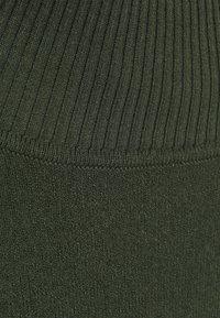 Samsøe Samsøe - GUNA TURTLE NECK - Jumper - kambu green - 2