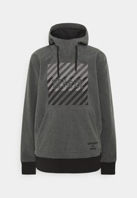 Superdry - SNOW TECH HOOD - Kurtka narciarska - charcoal - 0