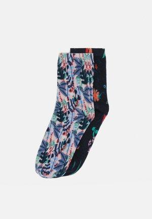 FLOWER SOCKS 4 PACK - Socks - chrystal pink