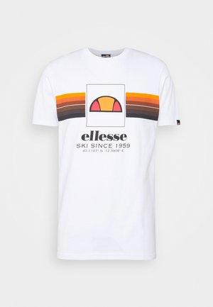 COLO - Camiseta estampada - white