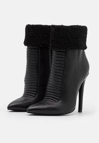 Even&Odd - LEATHER - Zimní obuv - black - 2