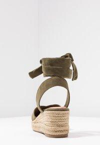 Tamaris - Platform sandals - khaki - 5