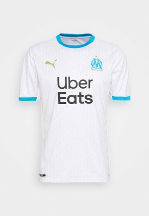 OLYMPIQUE MARSAILLE HOME SHIRT REPLICA - Club wear - white/bleu azur