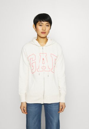 EASY - Zip-up hoodie - oatmeal heather