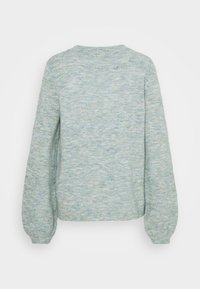 Vila - VIBUBBLE  - Jumper - green milieu/forest night/patriout - 1