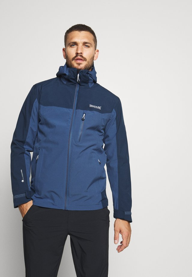 WENTWOOD 2-IN-1 - Giacca hard shell - dark blue