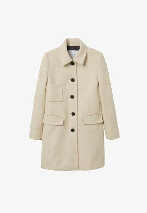 MET ZAKKEN - Short coat - ecru