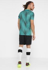 adidas Performance - T-shirt z nadrukiem - actgreen/hireye - 2