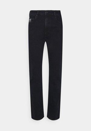 Džíny Straight Fit - blue black