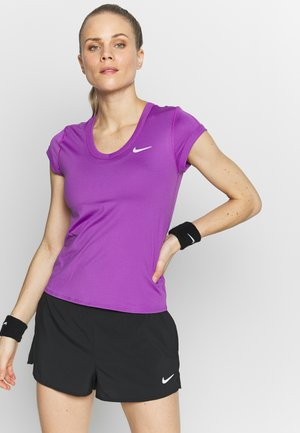 DRY - Basic T-shirt - purple/white