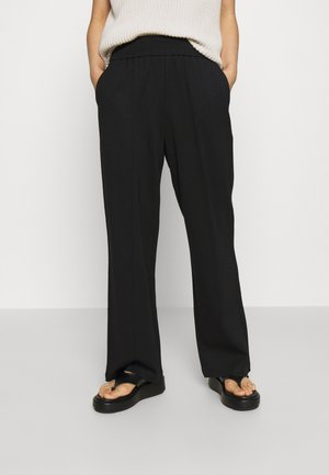 ONLPOPTRASH SUKI LIFE PANT - Trousers - black