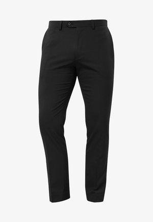Oblekové kalhoty - mottled black