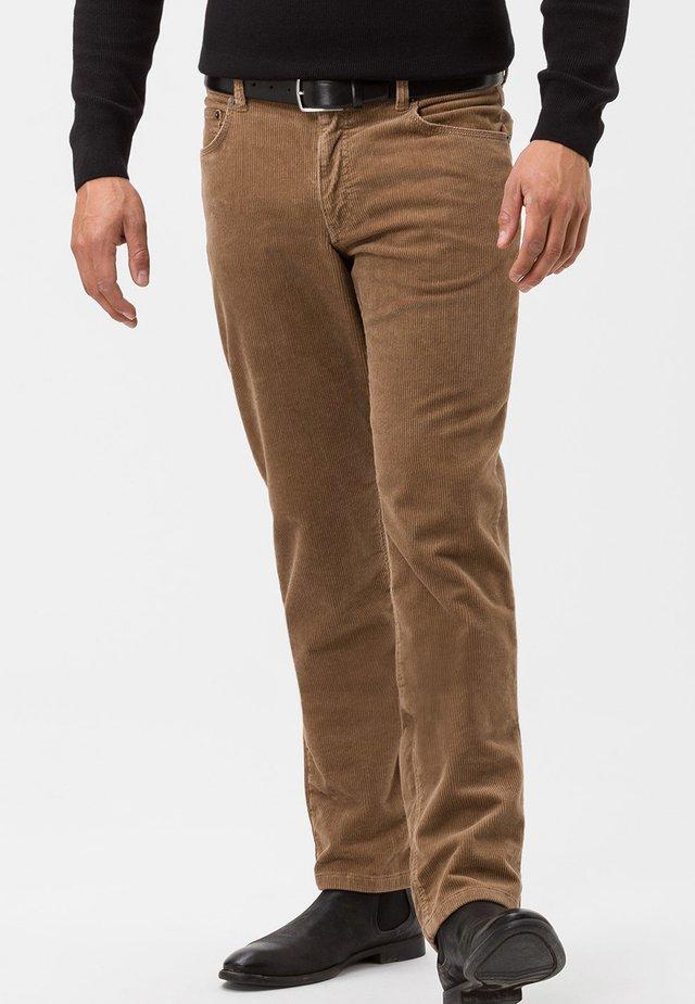 COOPER FANCY - Trousers - beige