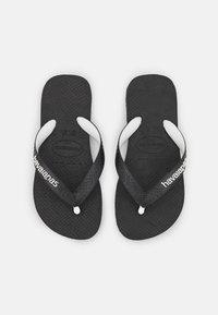 Havaianas - TOP MIX - T-bar sandals - black - 3