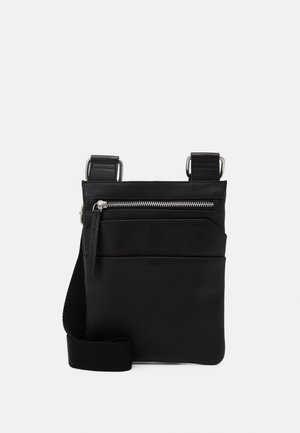 GROUND SMALL MESSENGER - Across body bag - black