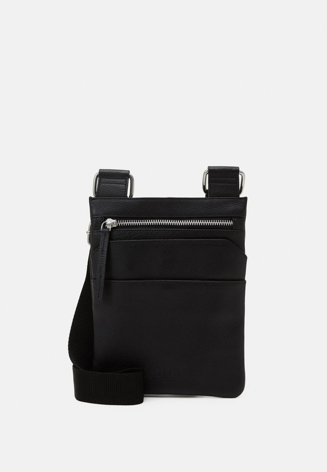 GROUND SMALL MESSENGER - Borsa a tracolla - black