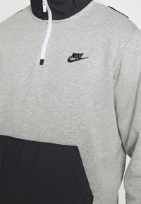 Nike Sportswear - Sweatshirt - grey heather/black - 4