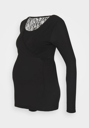 MLARTUR TESS - Long sleeved top - black