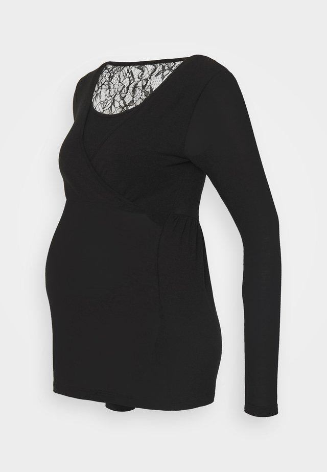 MLARTUR TESS - T-shirt à manches longues - black