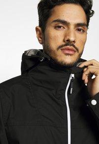 Solid - JACKET HUNT - Summer jacket - black - 3