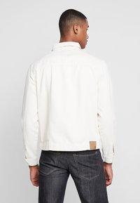 FoR - TRUCKER JACKET - Denim jacket - ecru - 2