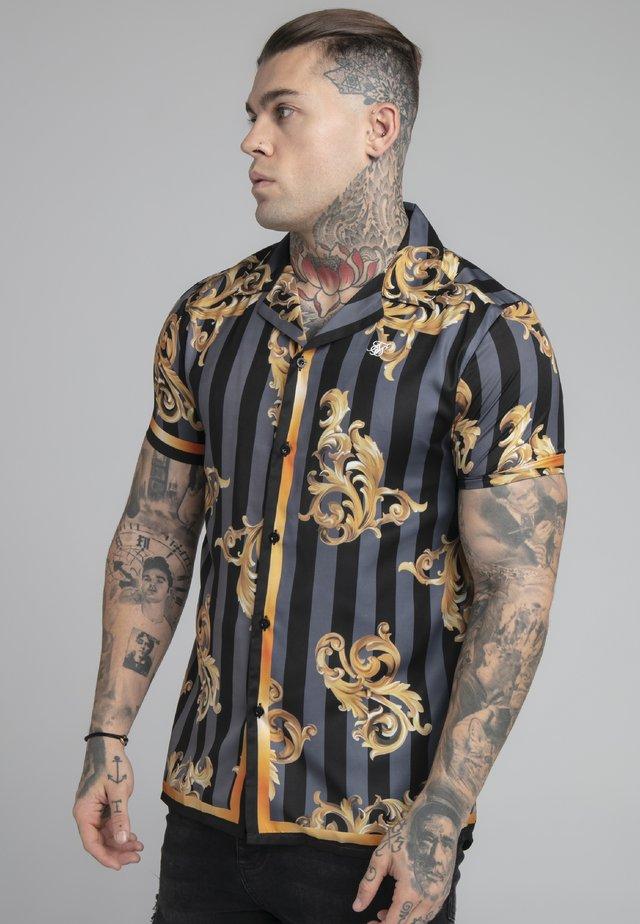 RESORT - Camicia - black/gold