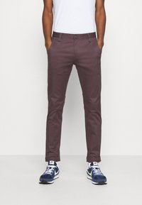 DOCKERS - ALPHA ORIGINAL  - Chinosy - raisin - 0