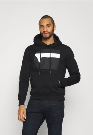 G RAW - Sweat à capuche - dark black