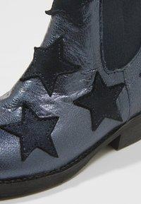 Shoesme - WESTERN - Kotníkové boty - marine - 2