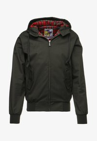 HARRINGTON - HOODED - Lehká bunda - kaki - 4