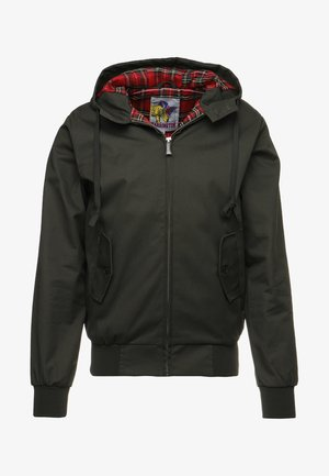 HOODED - Summer jacket - kaki