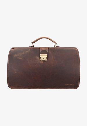 Briefcase - teak-brown