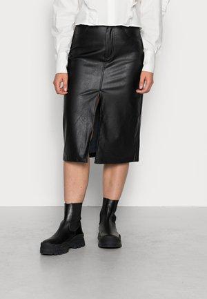 NICO SKIRT - Pencil skirt - black