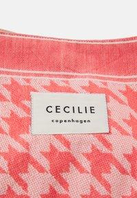 CECILIE copenhagen - BAG LARGE DOGTOOTH - Shopping bag - emberglow - 3